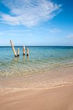 Picturesque sandy beach Royalty Free Stock Photography