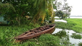 Picturesque scene in Kerala Backwaters Stock Photo