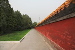 Picturesque scenery in Beijing stock photography