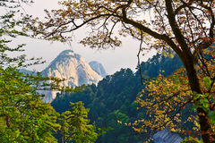 Picturesque scenery_Hua mountain_xian Stock Photo