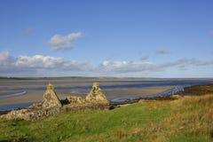 Picturesque Scottish Island Landscape Stock Photo
