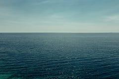 Picturesque sea horizon. Cruise Travel Tourism Summer Vacation C. Picturesque sea horizon. Cruise Travel Tourism Summer Vacation Holiday Conceptn royalty free stock image