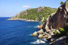 Picturesque sea landscape with bay. Mallorca Stock Photo