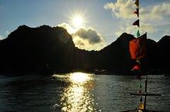 Picturesque sea landscape. Ha Long Bay, Vietnam Royalty Free Stock Photos