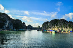 Picturesque sea landscape. Ha Long Bay, Vietnam Royalty Free Stock Photography