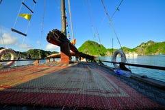 Picturesque sea landscape. Ha Long Bay, Vietnam Royalty Free Stock Images