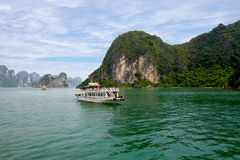 Picturesque sea landscape. Ha Long Bay, Vietnam Stock Image