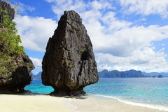 Seascape. El Nido, Philippines Stock Photos