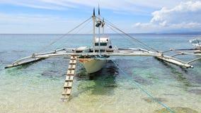 Bangka at island, Philippines Stock Photography