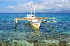 Bangka at island, Philippines Stock Photo