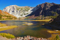 Picturesque shallow lake Royalty Free Stock Photography
