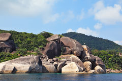 The picturesque shores of magical Similan Islands Royalty Free Stock Photography