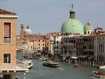 Picturesque sight of italian street Stock Photos