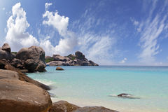 The  picturesque Similan Islands Stock Photo