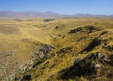 Sisian Landscape Steppe Scenery stock image