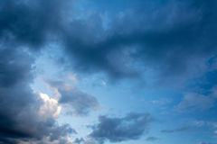 Picturesque sky with clouds Stock Image