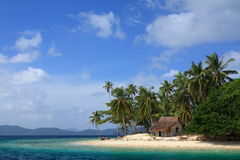 Philippines Pinagbuyutan island Stock Photos