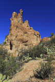 Picturesque Sonoran Upland Area Rocks Royalty Free Stock Image