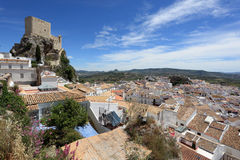 Picturesque spanish town Olvera Stock Photo