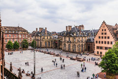 Picturesque Strasbourg, France in Europe Royalty Free Stock Photography
