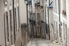 The picturesque street in Blois old town Stock Image