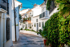 Picturesque street of Rancho Domingo Stock Photography
