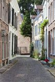 Picturesque street in Zutphen Stock Photography