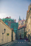 Picturesque streets of European cities Royalty Free Stock Photos