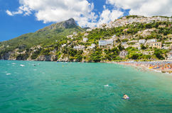 Free Picturesque Summer Landscape Of Vietri Sul Mare Beach, Italy. Royalty Free Stock Photos - 96702248