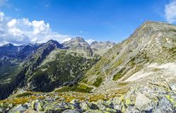 Picturesque summer view of High Tatras mountains, Slovakia Stock Image