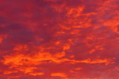 Picturesque sunset sky Royalty Free Stock Images