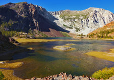 Picturesque superficial lake Royalty Free Stock Photography