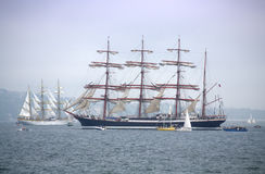 Picturesque tall ships  Royalty Free Stock Image