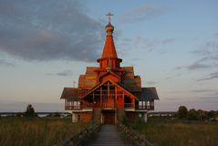 Church in Central Russia royalty free stock photos