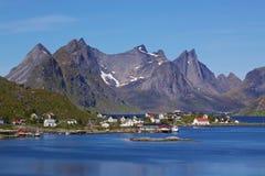 Picturesque Lofoten Stock Photography