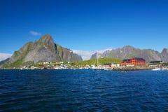 Picturesque Lofoten Stock Photo