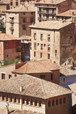 Picturesque town in Spain. Ancient houses. Albarracin. Teruel Royalty Free Stock Image