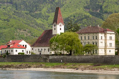 a picturesque town in the Wachau valley Royalty Free Stock Image