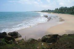 Picturesque  tropical beach. Sri Lanka Royalty Free Stock Photos