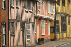Picturesque tudor houses Royalty Free Stock Image