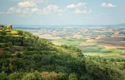 The picturesque Tuscan countryside Stock Images
