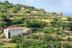 The picturesque Tuscan countryside Royalty Free Stock Image