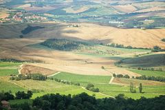 The picturesque Tuscan countryside Stock Photo
