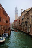 Picturesque Venetian canal Royalty Free Stock Photos