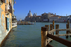Picturesque Venice Grand Canal Stock Image