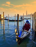 Picturesque Venice lagoon view Royalty Free Stock Photography