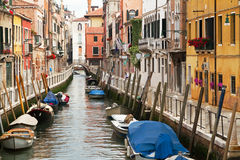 Picturesque Venice neighbourhood. Royalty Free Stock Image