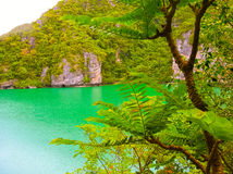 Picturesque view of Angthong national marine park Royalty Free Stock Photos