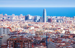 Picturesque view of Barcelona Stock Image