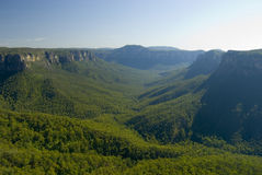 Picturesque view of the Blue Mountains, NSW Stock Images